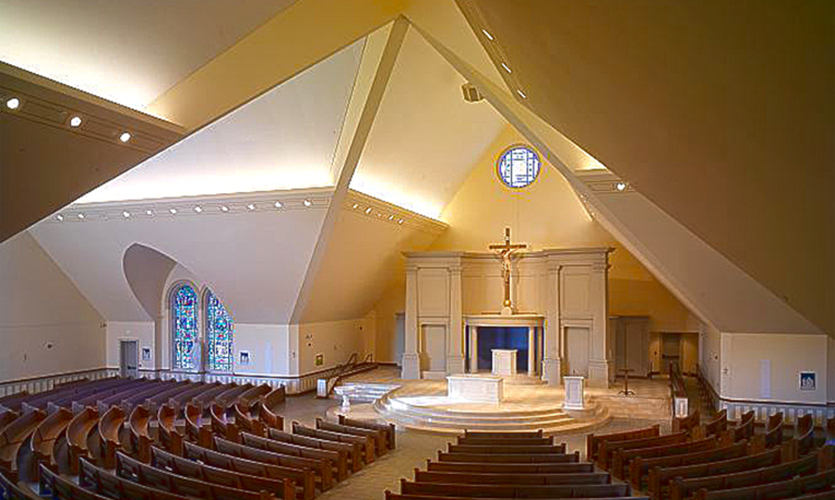 St. Louis Catholic Church Interior